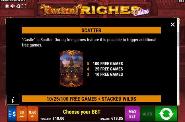Images of Ancient Riches Casino