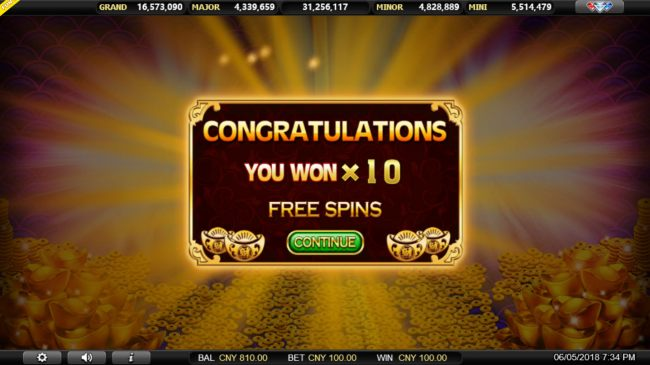 10 Free Games Awarded