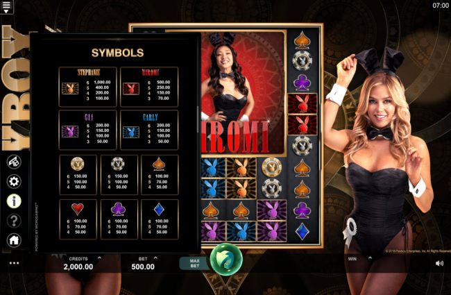 Playboy Gold Online Slot screenshot