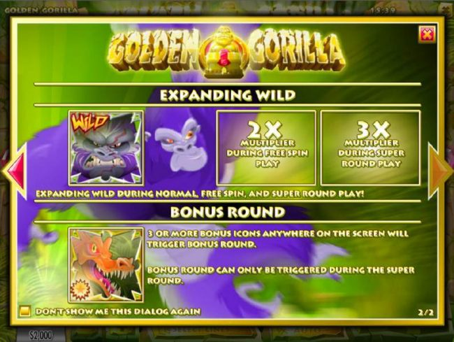 Golden Gorilla screenshot