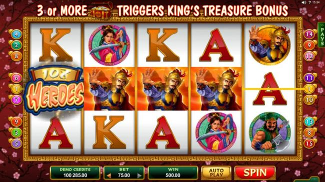 Casino Bonus Beater - Another big win triggered by a four of a kind.
