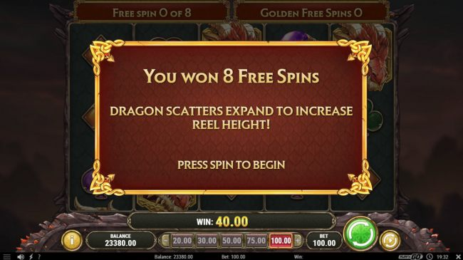Scatter win triggers the free spins feature - Casino Bonus Beater