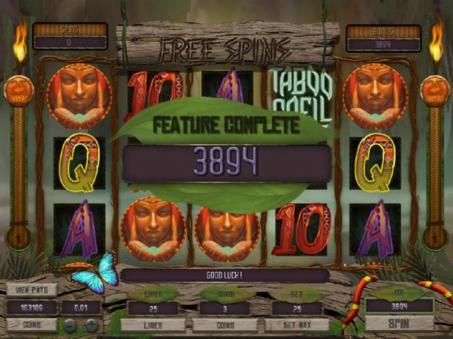 Casino Bonus Beater - Bonus feature paysout a total of 3894 coins