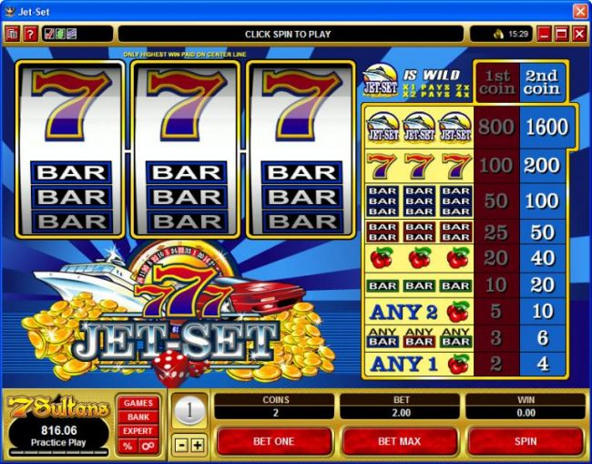 Casino Bonus Beater image of Jet Set