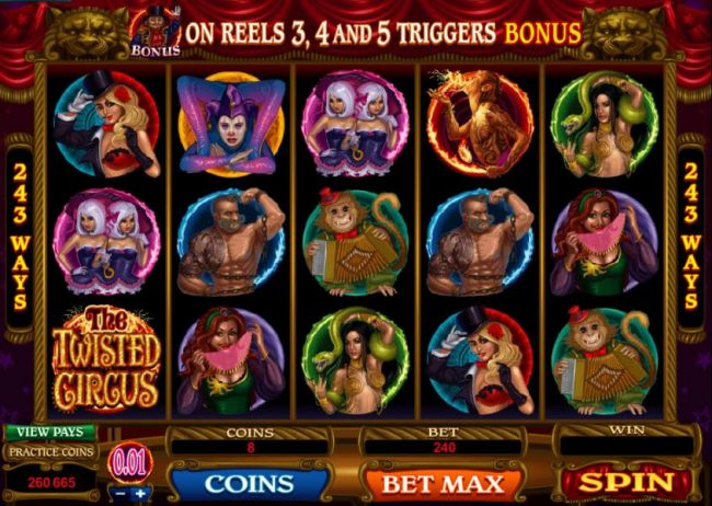 The Twisted Circus screenshot