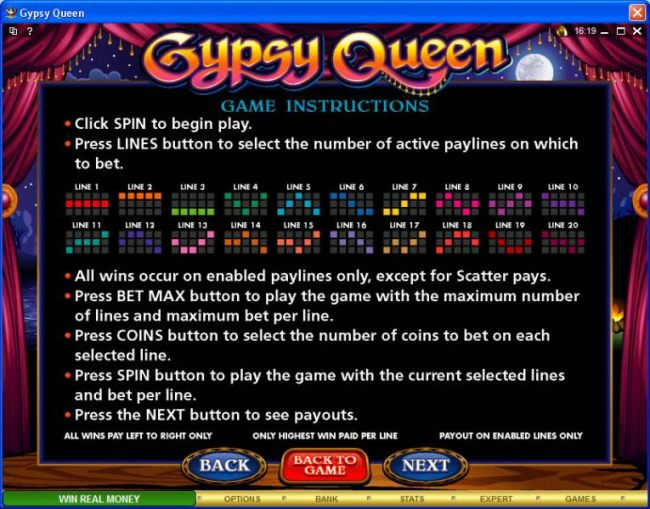 Gypsy Queen screenshot