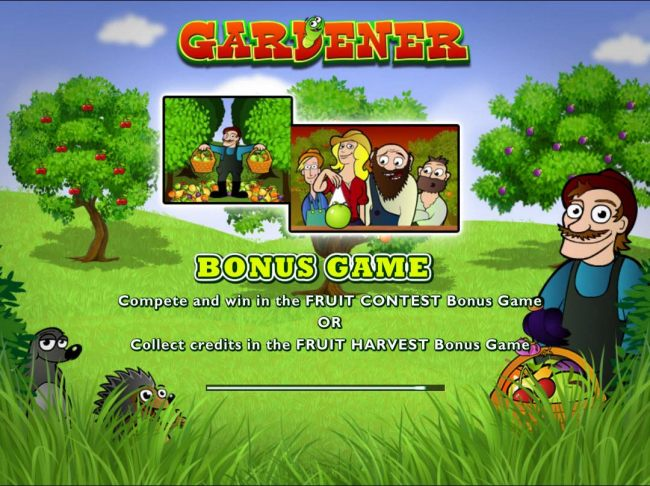 Casino Bonus Beater - Game features include: Bonus Game - Compete and win in the Fruit Contest bonus game or Collect credits in the Fruit Harvest bonus game.
