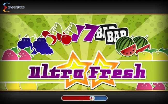 Splash screen - game loading - Featuring a fruit theme. - Casino Bonus Beater