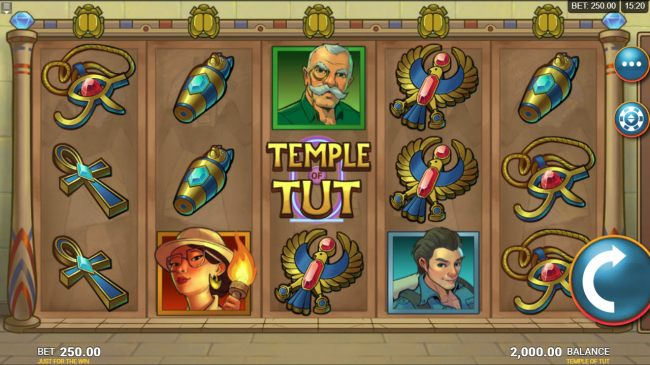 Temple of Tut by Casino Bonus Beater