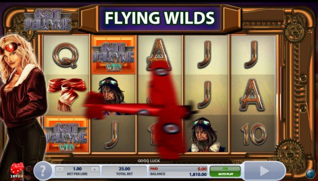 Flying Wilds Feature by Casino Bonus Beater