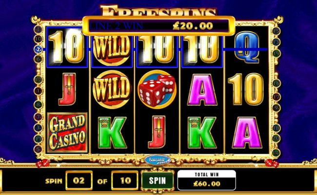 a $60 jackpot triggered by multiple winning paylines during the free spins bonus feature - Casino Bonus Beater