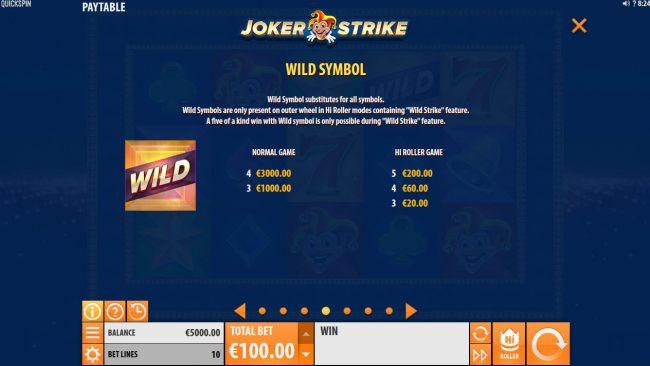 Joker Strike by Casino Bonus Beater