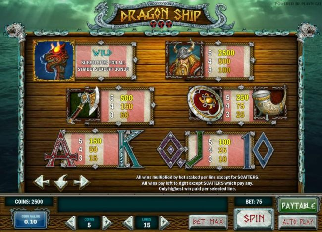 Images of Dragon Ship