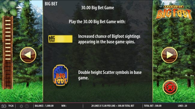 Legend of Big Foot by Casino Bonus Beater