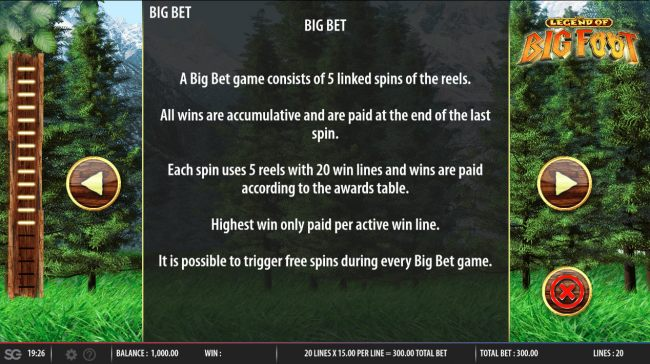 Big Bet Rules - Casino Bonus Beater
