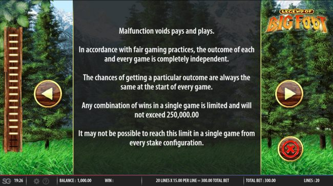 General Game Rules - Casino Bonus Beater