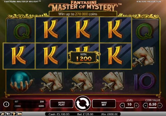 Fantasini Master of Mystery by Casino Bonus Beater