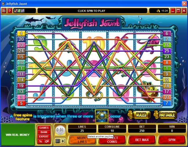 Casino Bonus Beater image of Jellyfish Jaunt