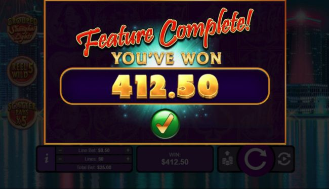 Total Feature Payout by Casino Bonus Beater