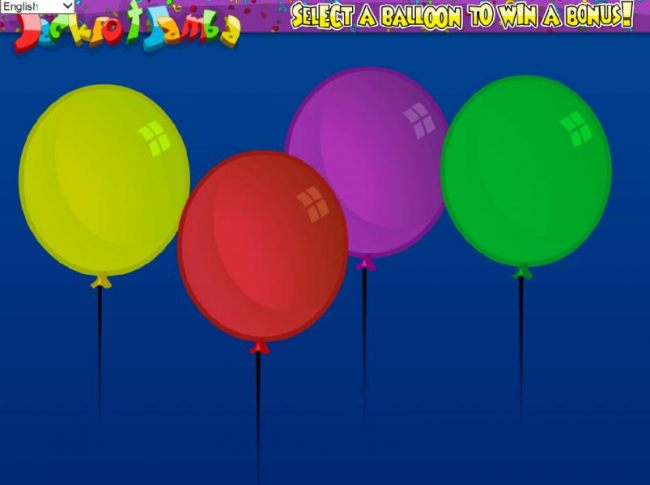 Casino Bonus Beater - select a balloon to win a prize