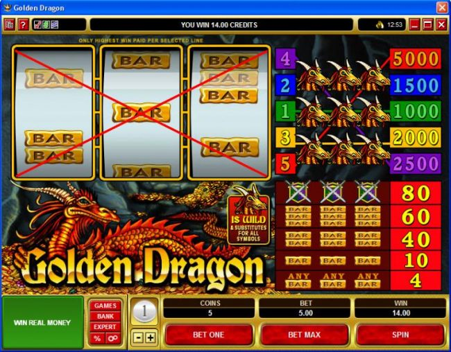 Images of Golden Dragon