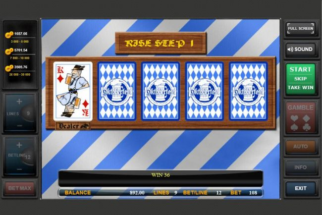 Gamble Feature Game Board - Casino Bonus Beater