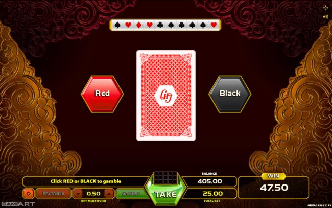 Casino Bonus Beater - Gamble Feature Game Board