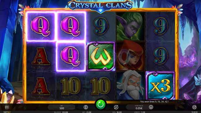 Casino Bonus Beater image of Crystal Clans