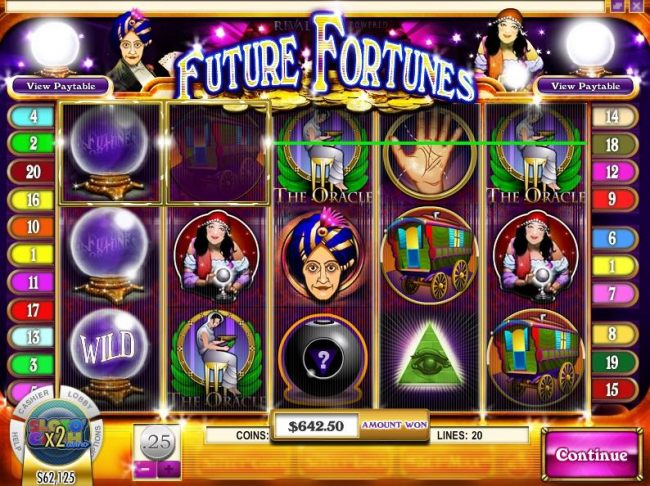 Casino Bonus Beater image of Future Fortunes
