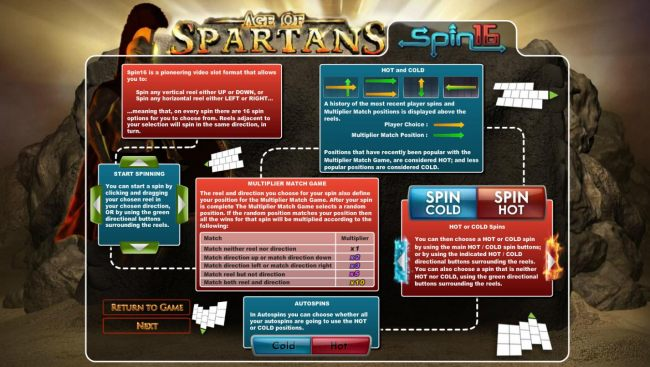 Casino Bonus Beater image of Age of Spartans Spin 16