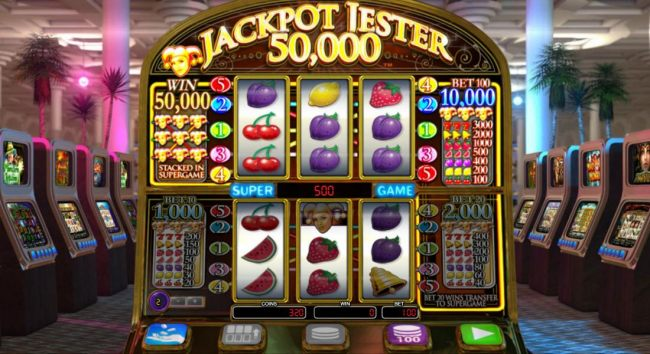 Play the super game (upper Reels) triggers a 400 coin payout by Casino Bonus Beater