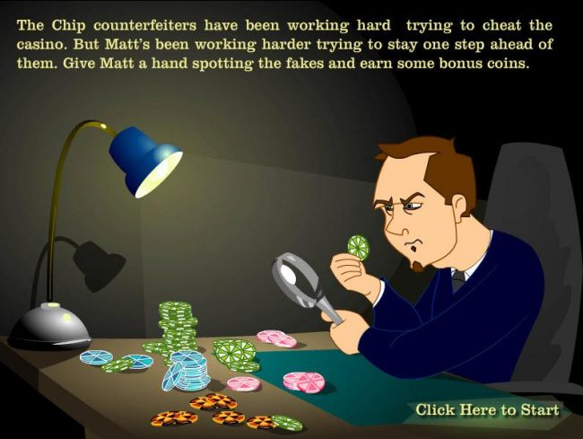Casino Bonus Beater - the chip counterfeiters have been working hard...Give matt a hand spotting the fakes and earn some bonus coins.