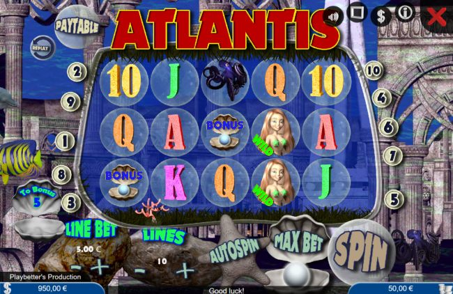 Casino Bonus Beater image of Atlantis