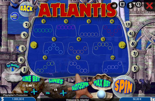 Atlantis screenshot