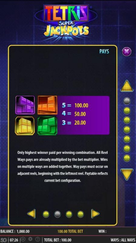 Casino Bonus Beater image of Tetris Super Jackpots