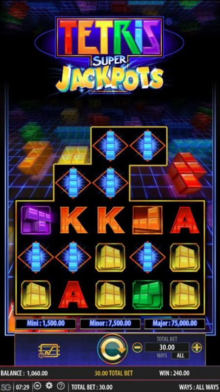 Tetris Super Jackpots by Casino Bonus Beater