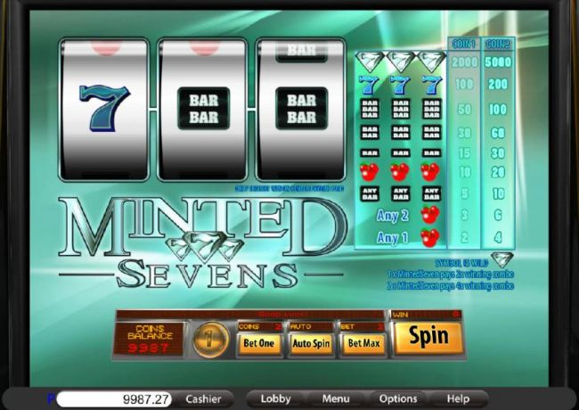 Casino Bonus Beater image of Minted Sevens