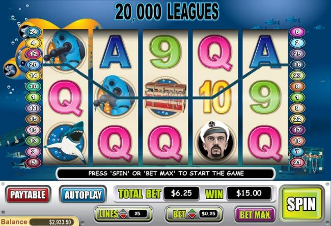 Casino Bonus Beater image of 20,000 Leagues