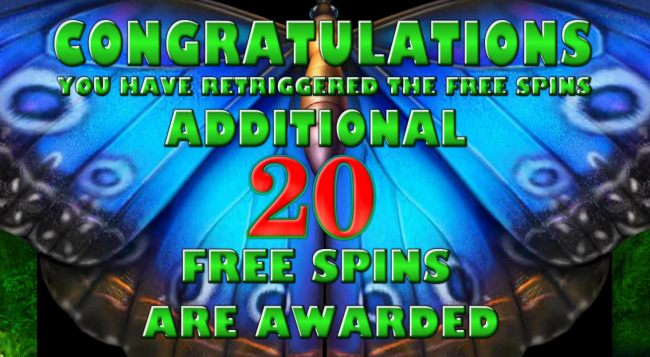 An additional 20 free games awarded