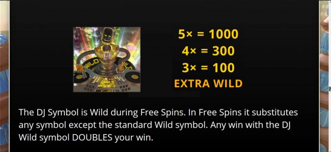 Extra Wild Symbol Rules and Pays - Free Spins Bonus