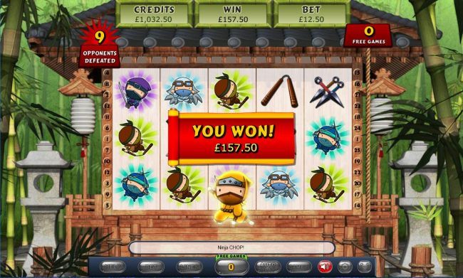 Total free games win 157.50