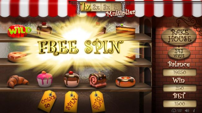Scatter win awards a free spin