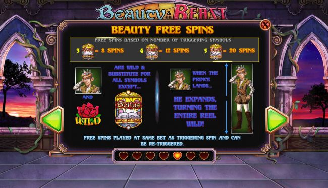 Beauty Free Spins Rules