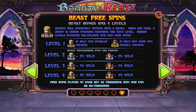 Beast Free Spins Rules