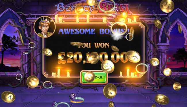 Total free games payout 20000 coins