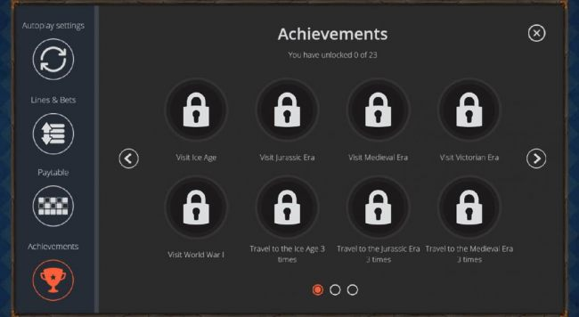game has 23 different achievement levels that you can unlock the more you play the game.