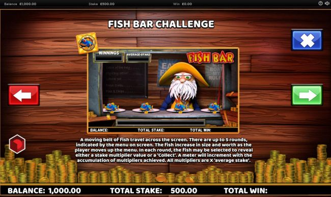 Fish Bar Challenge Rules