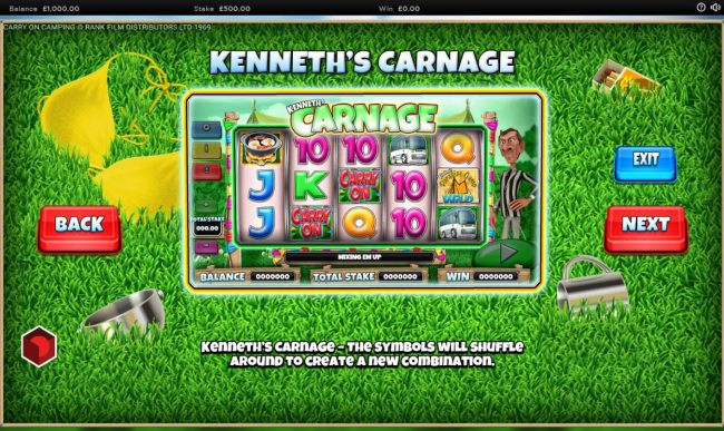 Kenneths Carnage Rules