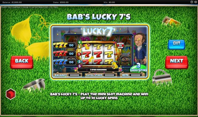 Babs Lucky 7s Rules