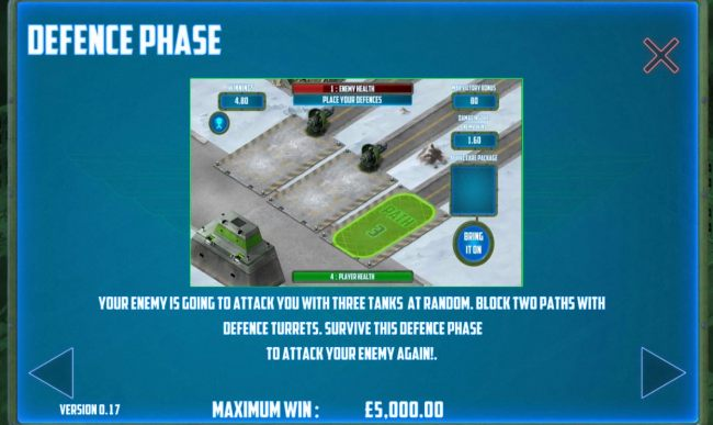 Defence Phase Rules